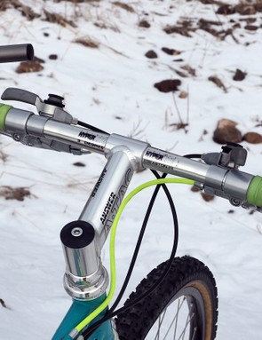 Answer Hyperlite bars and the matching A-TAC stem were standard issue on top-shelf bikes of the era