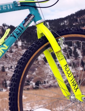The Accu-Trax unicrown fork was well known for its steering precision
