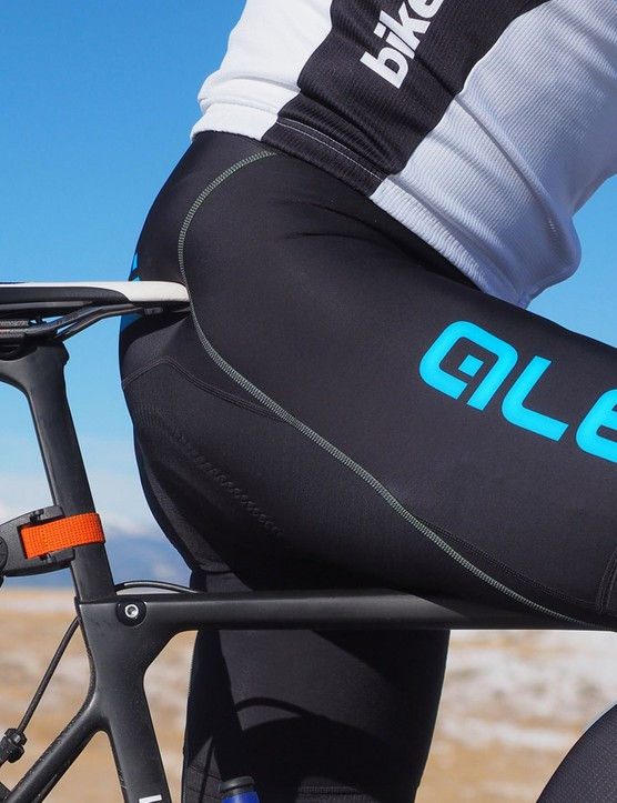 The Alé thermal bibs fit and function like good high-end bibs — but are warmer