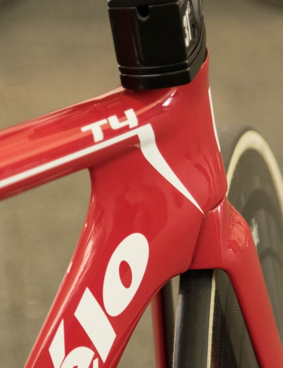 The Cervélo T4 borrows plenty of aero tricks from the P series bikes