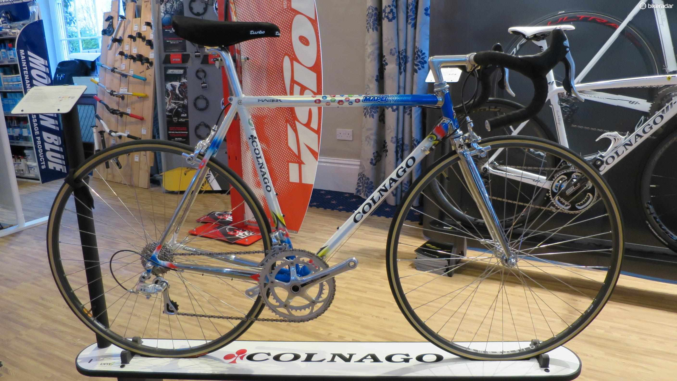 The Colnago Master is a classic that lives on in 2015