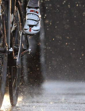 Enjoy your cycling and it won't matter if it's raining
