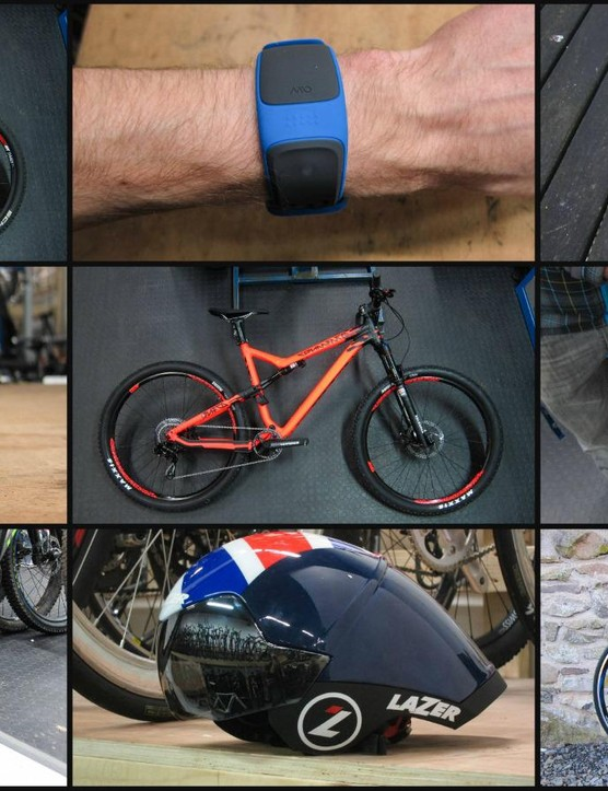 This week's new bike gear includes new bikes from Cube, Commencal and Pinnacle, plus kit from Elite, Lazer, Thule and more