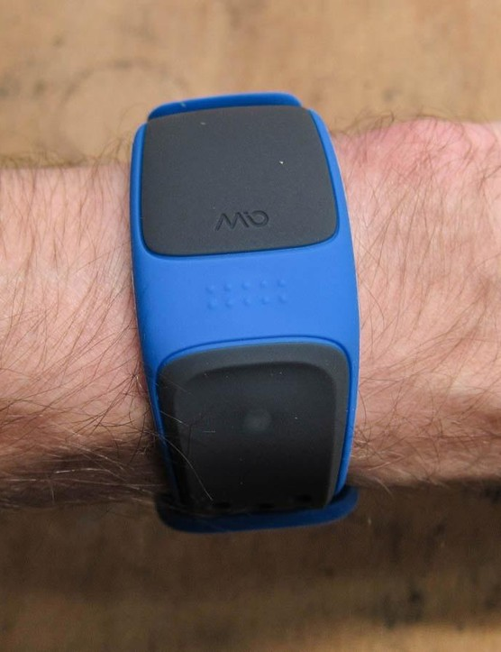 Mio Velo heart rate wristband