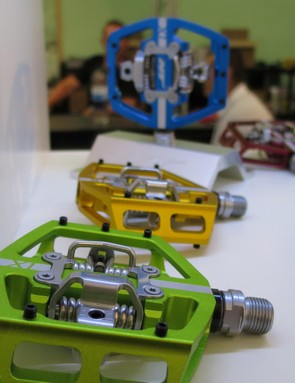 HT's X1 pedals combine a massive footprint with clip-in centres