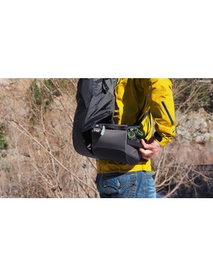 Undo the easily accessible buckle, rotate the lower compartment around your waist, and instantly access your camera gear - all without having to completely remove the pack altogether