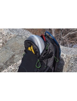 The Mindshift Rotation 180¡ Trail pack has a decent amount of storage, plus a dedicated pocket for a two-litre hydration reservoir