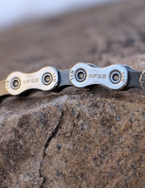 FSA says its new 11-speed Team Issue chain runs smoother and last longer than the best from Shimano, SRAM, and Campagnolo