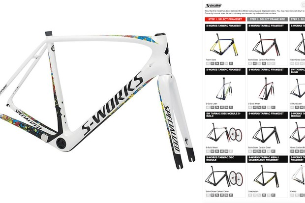 Specialized has launched a new semi-custom bike program called S-Build