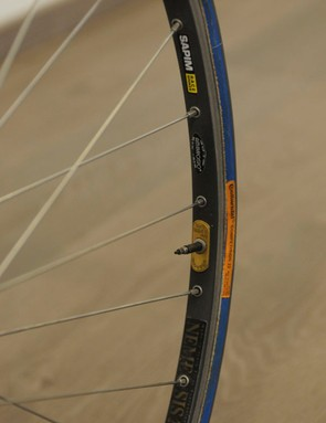 Before carbon became common, Ambrosio's Nemesis rims were just that for cobbled races
