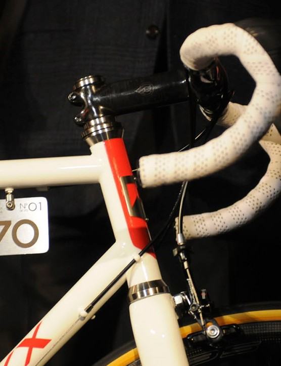 Each bike will bear a stainless steel plaque denoting its series number