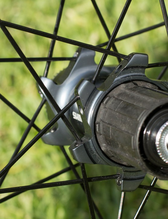 Straight pull spoke design for the RX830