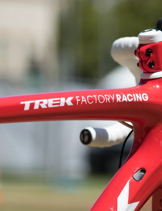 McConnell isn't a full-time member of the Trek Factory Racing team. He spends most of his season racing mountain bikes