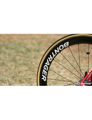 Bontrager is now providing clearer branding to its team-issue components
