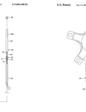 Most of Shimano's power-meter patents were filed in 2012 and updated in late 2014
