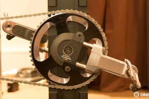 Shimano's BikeFitting Pedaling Analysis hardware includes a dual-sided power meter
