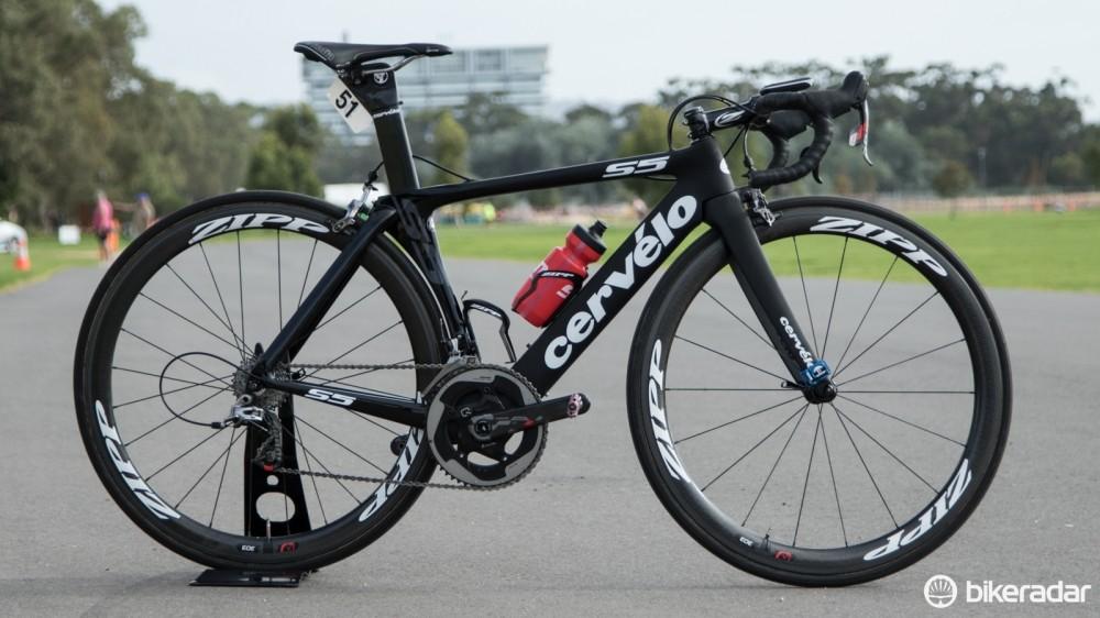 2015 Velocio-SRAM team bike - Tiffany Cromwell's Cervelo S5