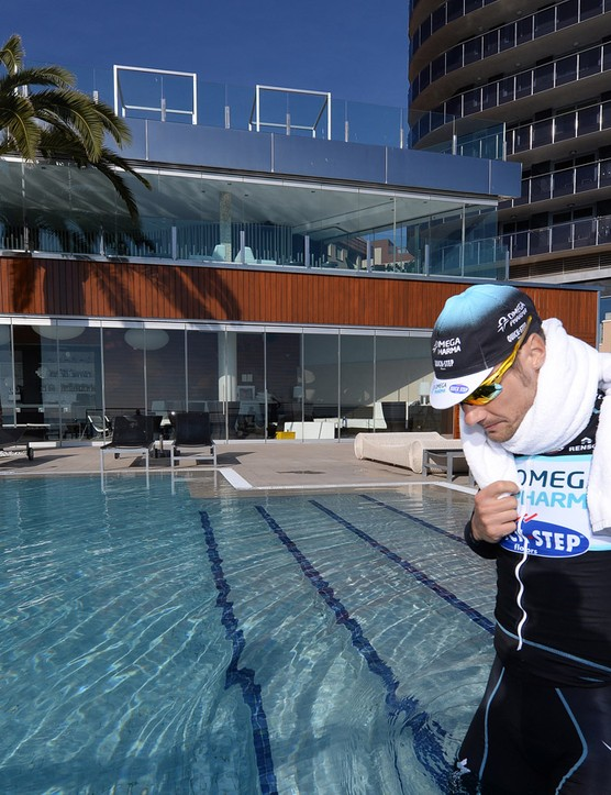 Why not try some other training, such as swimming?