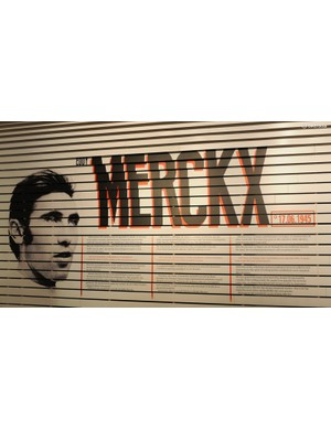 With Merckx's birthday not until June, the Expo and celebratory bike are an early present