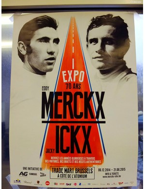 Eddy Merckx and Jacky Ickx are sharing their 70th year with this fantastic joint Expo that will run until June 21st 2015