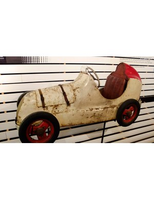 Jacky Ickx's first car from 1950