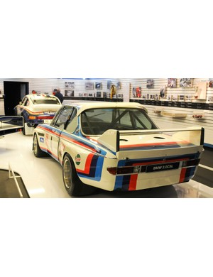 The BMW 3.0 CSL Batwing from 1974