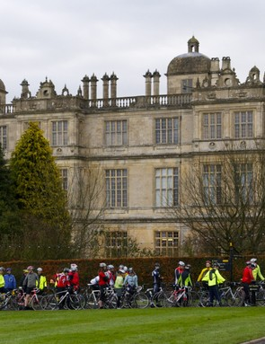 Signing up to sportives can take you to some stunning places - this is the Lionheart based at Longleat in Wiltshire