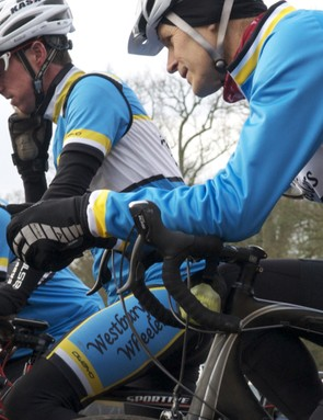 Entering with clubmates or friends of a similar ability can really help maintain morale throughout the ride