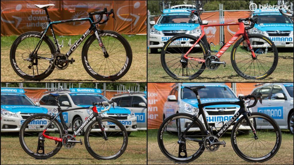 Top five 2015 pro road bikes