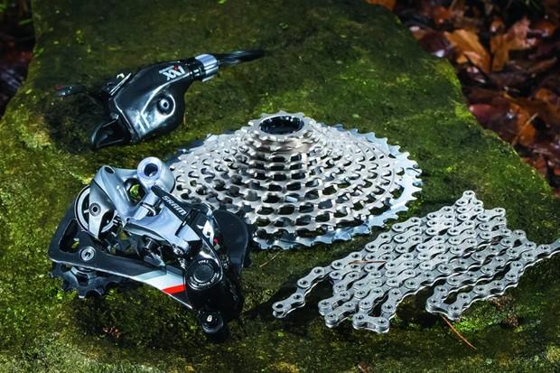 SRAM XX1 mountain bike transmission