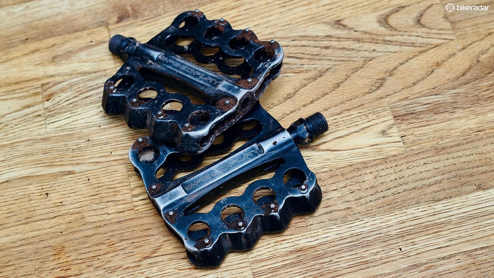 Speedplay Brass Knuckle pedals