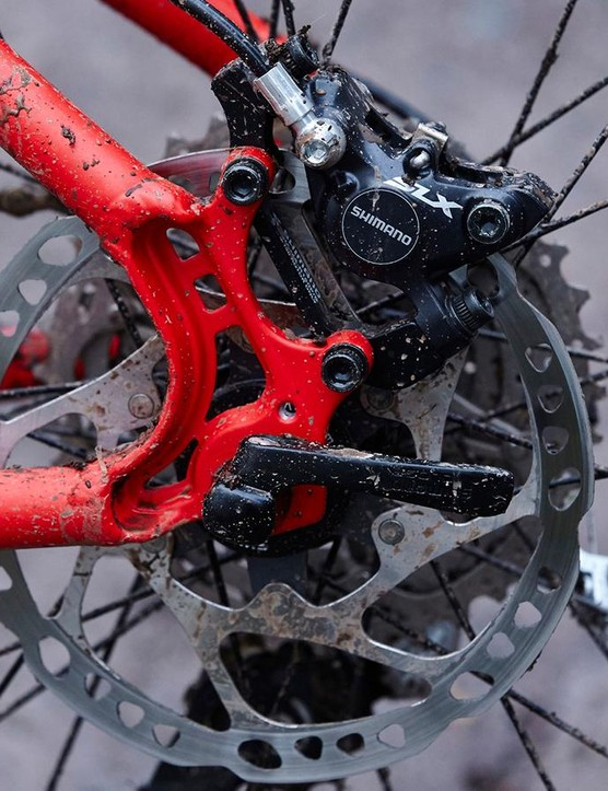 At this price few brakes can match Shimano's SLX stoppers for power and control
