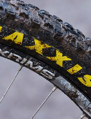 Maxxis's Ardent treads are bigger and floatier than their nominal 2.25in width might suggest