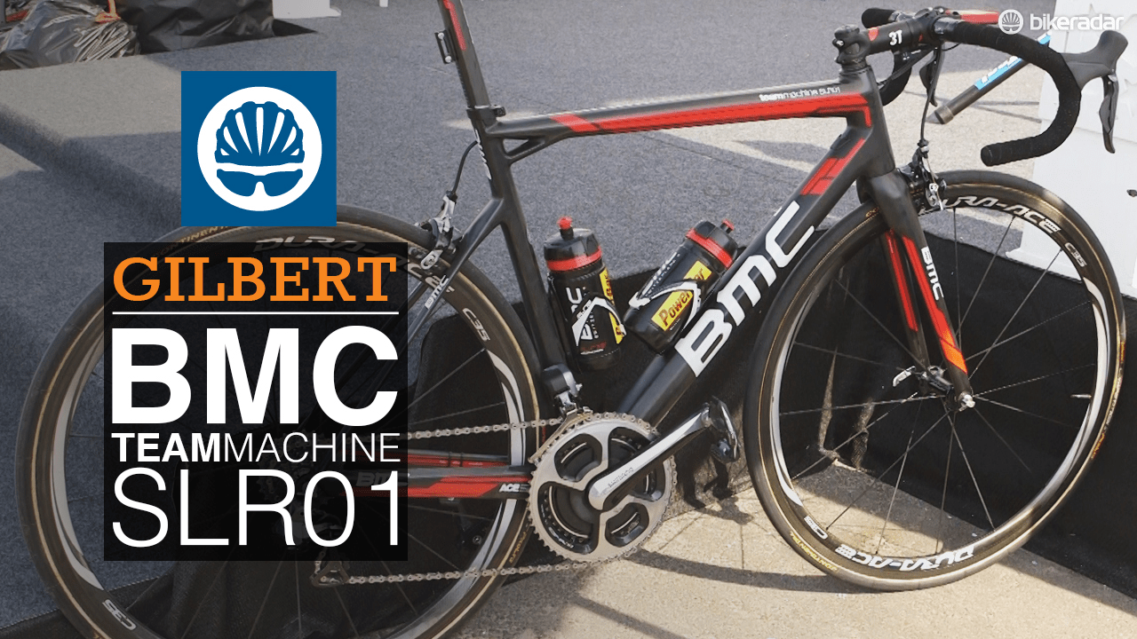 Pro bike: Philippe Gilbert's BMC TimeMachine SLR01