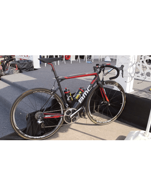 Gilbert will be riding a BMC TeamMachine SLR01 for the 2015 season