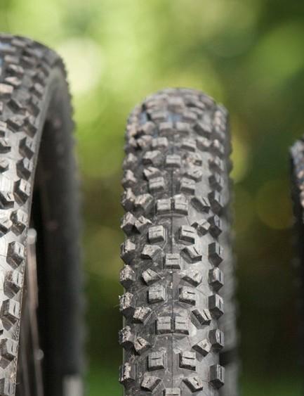29in, 650b (27.5in) and 26in mountain bike wheels