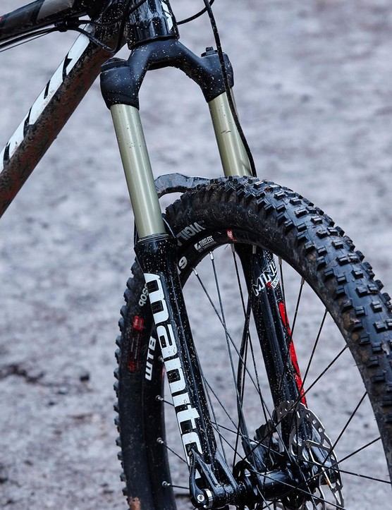 Manitou's Minute fork is improved but can't quite match a RockShox Revelation