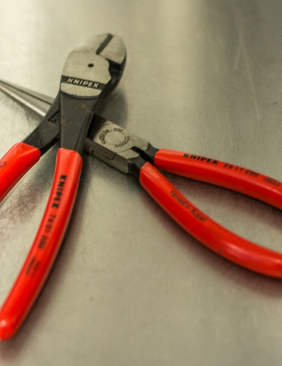 Made in Germany, Knipex pliers are a true professional item. However, while Knipex tools are relatively affordable in some parts of the world, there's usually nothing wrong with mid-range brands from the hardware store