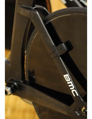 The speed sensor provided added data from the magnet embedded in the rear disc