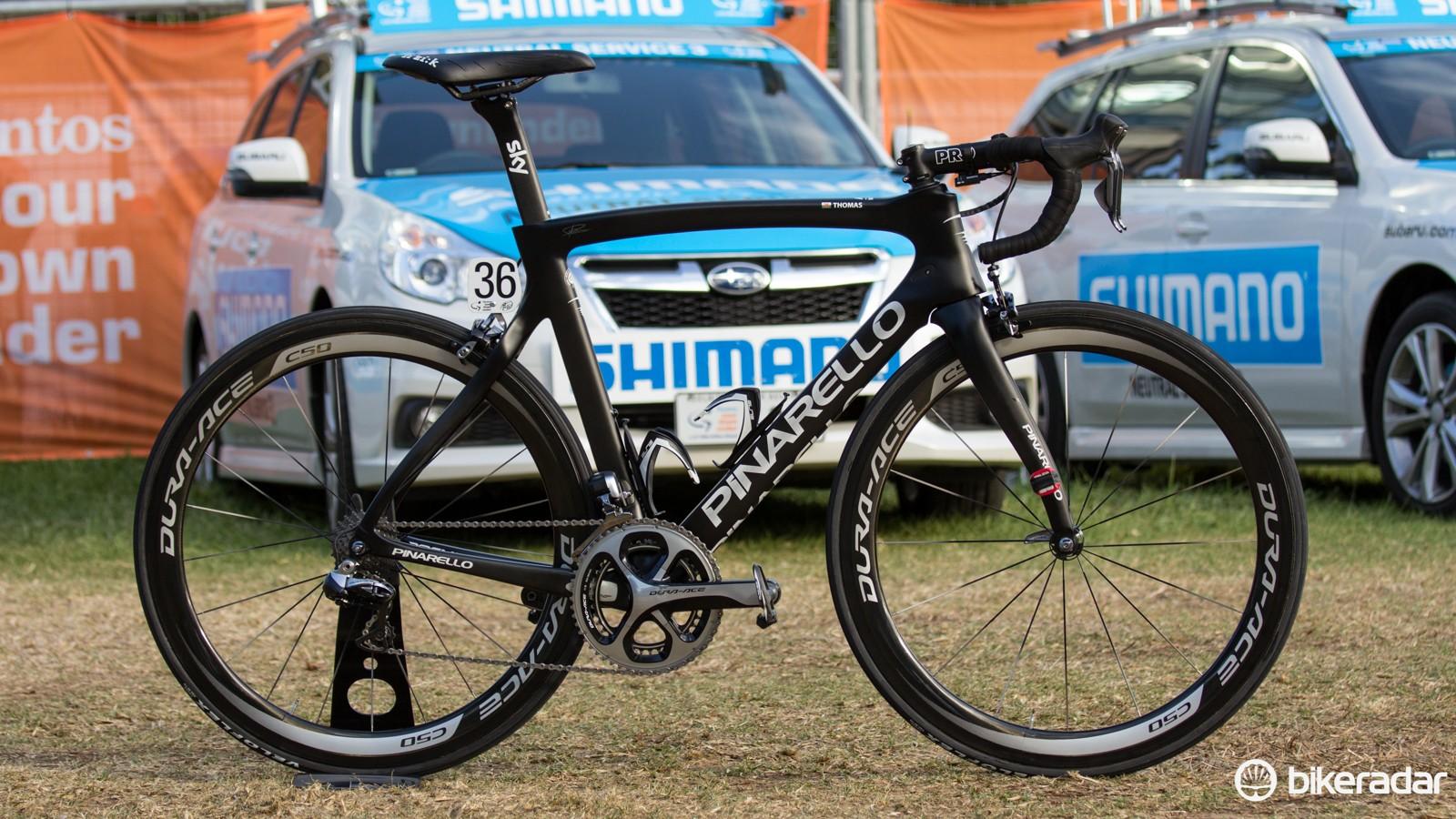 Pro bike: Geraint Thomas' Pinarello Dogma F8