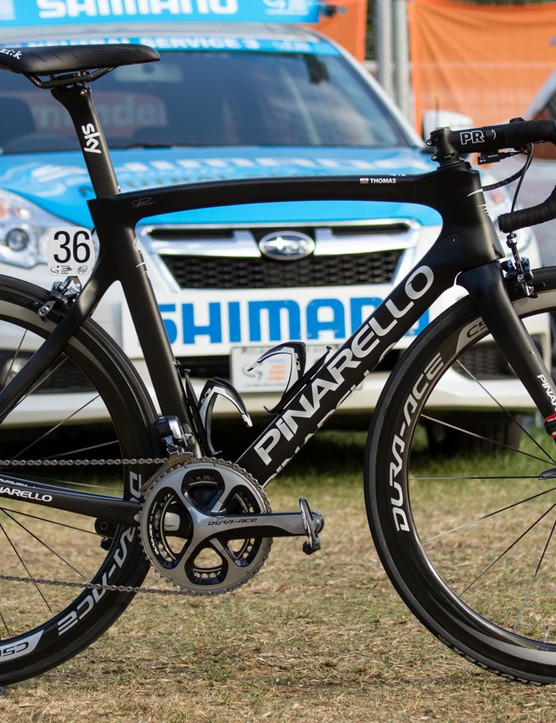 Pro bike: Geraint Thomas' Pinarello Dogma F8
