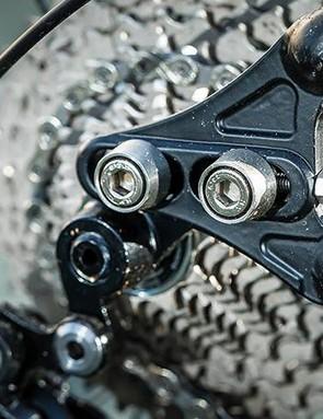 Sliding dropouts mean wheelbase tweaking or single gear options