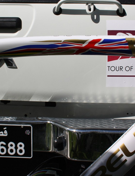 A bike fit for a world time trial champion