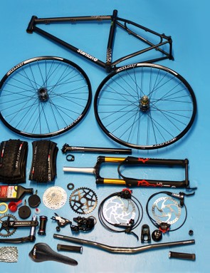 It takes a lot of bits to build up a bike these days, even if it's a 1x10 hardtail