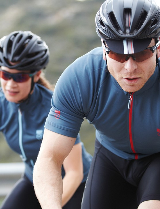 The Valldemosa Race jersey isn't overloaded with logos