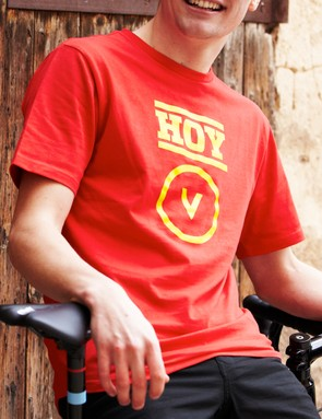 The Keirin T-shirt is about as loud as the Hoy Vulpine range gets