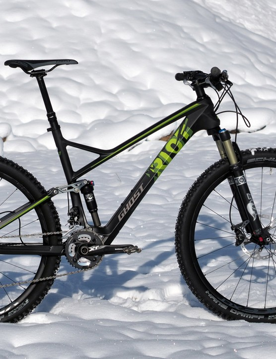 The Ghost Riot 7 LC looks the part of a capable trail bike but inside is the heart of a racer