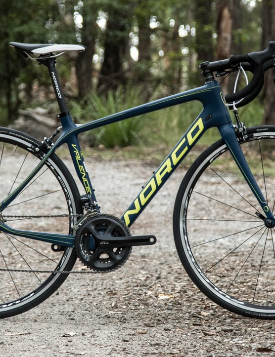The 2015 Norco Valence Ultegra Di2 endurance road bike