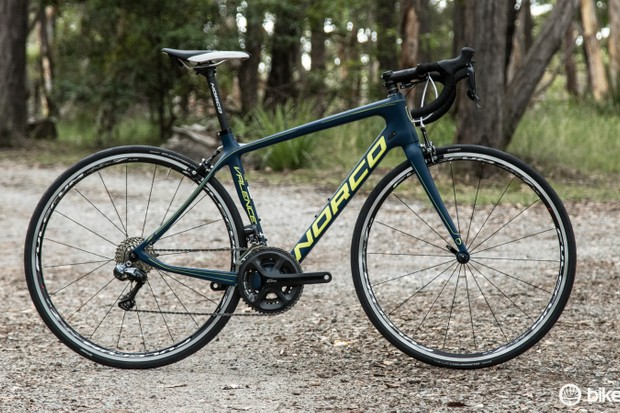 The 2015 Norco Valence Ultegra Di2 endurance road bike