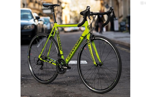 Cannondale's CAAD8 105 – a lean, mean, green machine